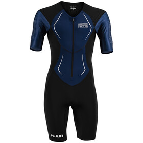 HUUB DS Long Course Trisuit Uomo, black/navy